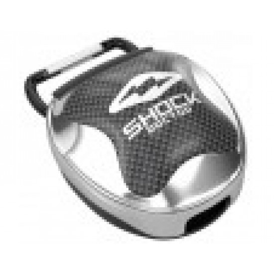 Shock Doctor Mouthguard Case Chrome